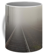 Tracks In The Fog  Coffee Mug