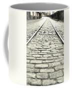 Tracks In The Road Coffee Mug