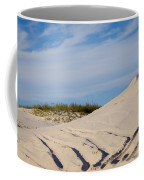 Tracks In The Sand Dunes Coffee Mug