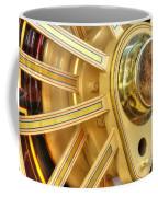 Traction Engine Wheel Coffee Mug