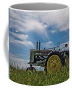 Tractor In Field Coffee Mug