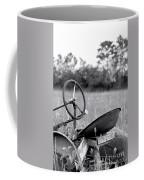 Tractor In Long Grass Coffee Mug