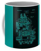 Tractor Patent Drawing 7f Coffee Mug