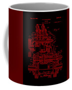 Tractor Patent Drawing 7j Coffee Mug