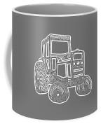 Tractor Transparent Coffee Mug
