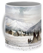 Trading Outpost, C1860 Coffee Mug