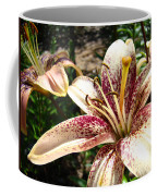 Traditional Art Lily Flowers Floral Garden Baslee Troutman Coffee Mug