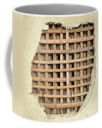 Traditional Bamboo Mud Wall Construction Coffee Mug