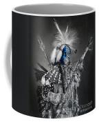 traditional dancer Blue Coffee Mug