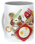 Traditional Israeli Breakfast Coffee Mug