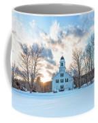 Traditional New England White Church Etna New Hampshire Coffee Mug
