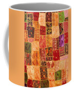 Traditional Patchwork Tapestry Coffee Mug