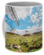 Traditional White Windmills  Coffee Mug