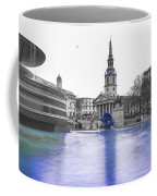 Trafalgar Square Fountain London 3d Coffee Mug