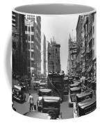 Traffic On Fifth Avenue Coffee Mug