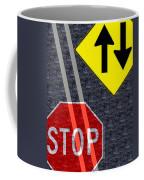 Traffic Signs Coffee Mug