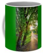 Trail Into Sunset Coffee Mug