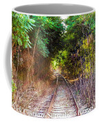 Trails Of Tracks Coffee Mug