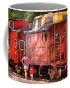 Train - Car - Pennsylvania Northern Region Caboose 477823 Coffee Mug