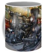 Train - Engine - Steam Locomotives Coffee Mug