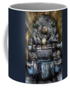 Train - Engine -1218 - Norfolk Western Class A - 1218 - Front View Coffee Mug