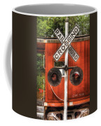 Train - Yard - Railroad Crossing Coffee Mug