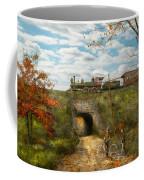 Train - Arlington Nj - Enjoying The Autumn Day - 1890 Coffee Mug