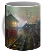 Train At Night Coffee Mug