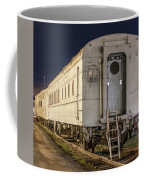 Train Car And Tracks Coffee Mug