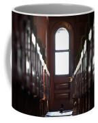 Train Car Interior Coffee Mug