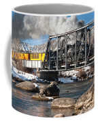 Train Crossing Coffee Mug