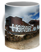 Train Graveyard Uyuni Bolivia 13 Coffee Mug