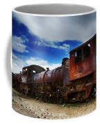 Train Graveyard Uyuni Bolivia 15 Coffee Mug