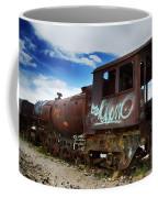 Train Graveyard Uyuni Bolivia 16 Coffee Mug