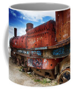 Train Graveyard Uyuni Bolivia 18 Coffee Mug