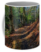 Train On The Adirondack Log Keene Valley Ny New York Coffee Mug