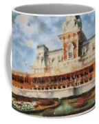 Train Station At Magic Kingdom Coffee Mug