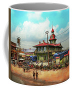 Train Station - Louisville And Nashville Railroad 1912 Coffee Mug
