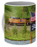 Train The Flags Coffee Mug