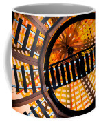 Train Track Abstract Coffee Mug