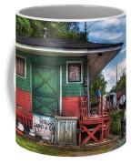 Train - Yard - The Train Station Coffee Mug by Mike Savad