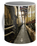 Trains Ancient Iron In The Barn Coffee Mug