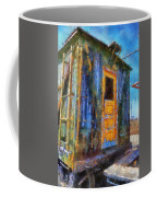 Trains Box Car Yellow Door Pa 02 Coffee Mug