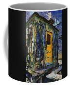 Trains Box Car Yellow Door Pa 04 Coffee Mug