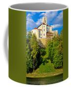 Trakoscan Castle And Green Lake  Coffee Mug