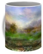 Tranquil Alpine Village Coffee Mug