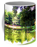 Tranquil Landscape At A Lake 1 Coffee Mug