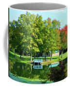 Tranquil Landscape At A Lake 4 Coffee Mug