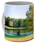 Tranquil Landscape At A Lake 6 Coffee Mug