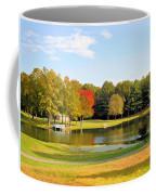 Tranquil Landscape At A Lake 7 Coffee Mug